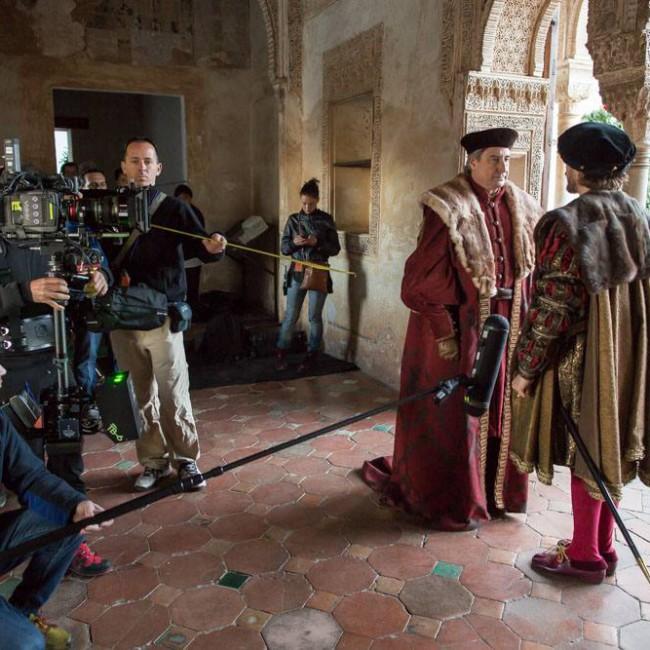 Johanna en 'Carlos, rey Emperador'